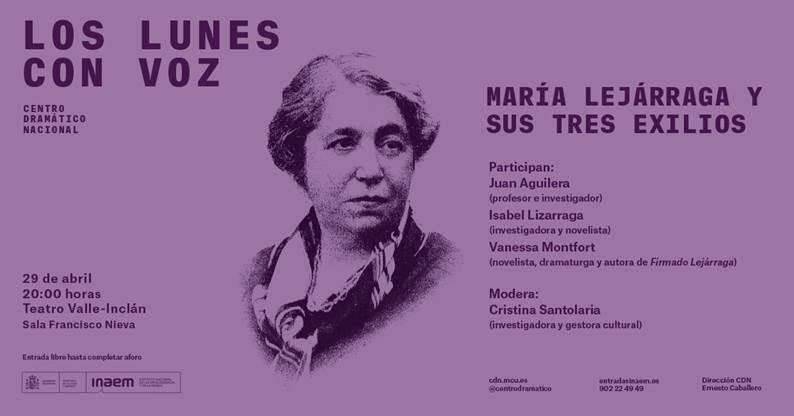 María Lejárraga y sus tres exilios